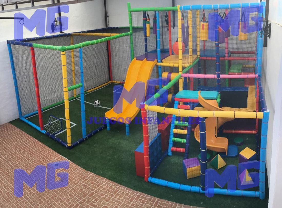 Juegos infantiles modulares tubulares PlayGrounds